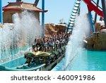 port aventura  spain   may  11. ... | Shutterstock . vector #460091986