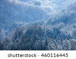 shirakawa  mountain  snow | Shutterstock . vector #460116445