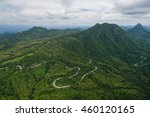 aerial view of countryside and... | Shutterstock . vector #460120165