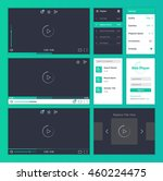 web player user interface...