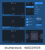 web player user interface...