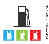 gas station icon. gas station...   Shutterstock .eps vector #460249732