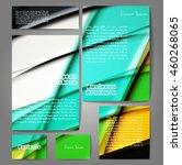 corporate identity template set....   Shutterstock .eps vector #460268065