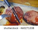 deep fried minced pork dressing ... | Shutterstock . vector #460271338