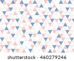 vector romantic pattern pastel...   Shutterstock .eps vector #460279246