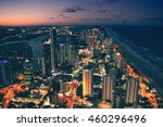 surfers paradise city night in... | Shutterstock . vector #460296496