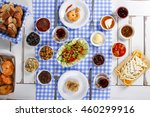 rich and delicious turkish ... | Shutterstock . vector #460299916