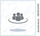 group of people sign icon | Shutterstock .eps vector #460341445