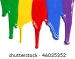 paint dripping | Shutterstock . vector #46035352