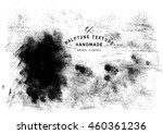 halftone dots vector texture... | Shutterstock .eps vector #460361236
