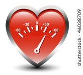 Heart Shape Speedometer