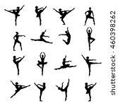 ballet dancer ballerina   Shutterstock .eps vector #460398262