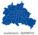 map of berlin | Shutterstock .eps vector #460398742