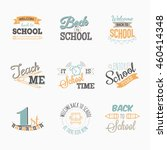 set logo for on the first of...   Shutterstock .eps vector #460414348
