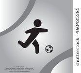football  soccer  player...   Shutterstock .eps vector #460435285
