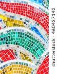 Art Mosaic Glass Or Seamless...