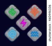 set of different element magic...