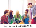 education concept   students... | Shutterstock . vector #460485256