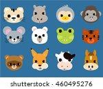animal face | Shutterstock .eps vector #460495276