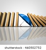 protect losses concept and... | Shutterstock . vector #460502752