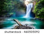 waterfall hidden in the... | Shutterstock . vector #460505092