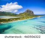 mauritius beach island aerial... | Shutterstock . vector #460506322
