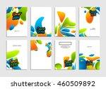 summer sport 2016 concept... | Shutterstock .eps vector #460509892