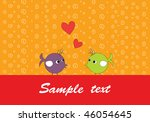 vector illustration of retro... | Shutterstock .eps vector #46054645