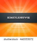 vector banner or flyer design... | Shutterstock .eps vector #460555072