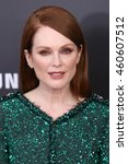 """Small photo of NEW YORK - NOV 18, 2015: Julianne Moore attends the premiere of """"The Hunger Games: Mockingjay - Part 2"""" at AMC Lincoln Square on November 18, 2015 in New York City."""