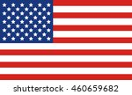 united states flag | Shutterstock .eps vector #460659682