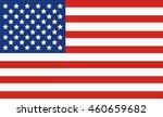 united states flag | Shutterstock .eps vector #460659682
