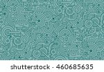 mechanical seamless vector... | Shutterstock .eps vector #460685635
