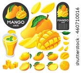 Mango Fruit Isolated Vector
