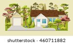 illustration of a classic... | Shutterstock .eps vector #460711882