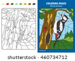 Wood Animals Coloring Page For...