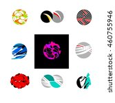 business icons set   isolated... | Shutterstock .eps vector #460755946