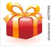 gift box | Shutterstock .eps vector #46079368