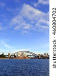 city skyline in sydney...   Shutterstock . vector #460804702