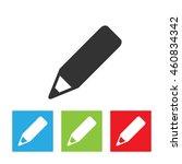 pencil icon. pencil logo...