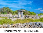 ancient stone table at the... | Shutterstock . vector #460861936
