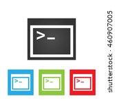 coding icon. simple logo of...