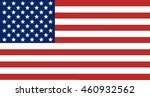 flag of the united states of... | Shutterstock . vector #460932562