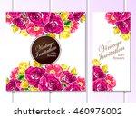 vintage delicate invitation... | Shutterstock .eps vector #460976002