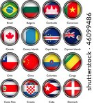 international flags vector 2 | Shutterstock .eps vector #46099486