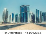 dubai business bay  united arab ... | Shutterstock . vector #461042386