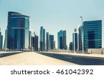 dubai business bay  united arab ... | Shutterstock . vector #461042392