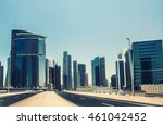 dubai business bay  united arab ... | Shutterstock . vector #461042452