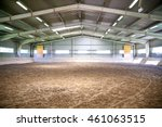 empty riding arena is suitable ... | Shutterstock . vector #461063515