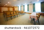interior of modern conference... | Shutterstock . vector #461072572
